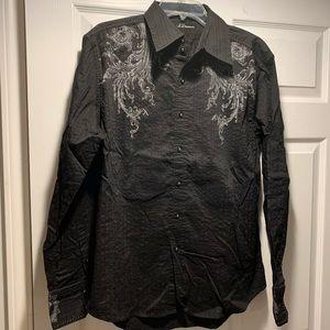 7 Diamonds Black Shirt